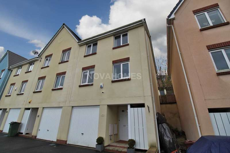 4 Bedrooms Terraced House for sale in Modern four bedroom family home with garage, PL5 1FJ
