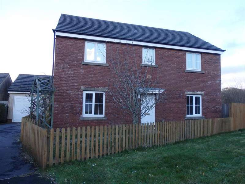 4 Bedrooms Detached House for sale in Rhodfa'r Ceffyl, Carway, Kidwelly