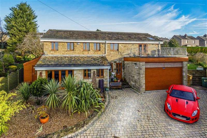 5 Bedrooms Detached House for sale in Vine Close, Brighouse, Brighouse, HD6