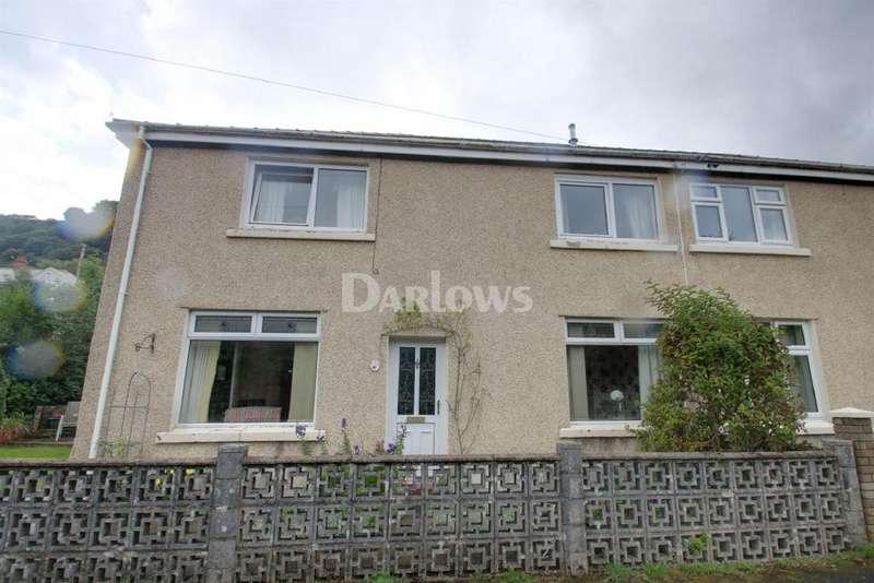 4 Bedrooms Semi Detached House for sale in Ogilvie Terrace Deri