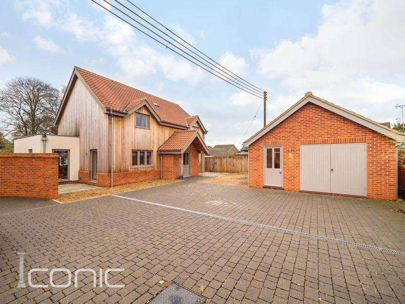 4 Bedrooms Detached House for sale in Holly Close, Taverham, Norwich