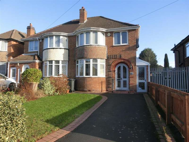 3 Bedrooms Semi Detached House for sale in Red House Road, Birmingham