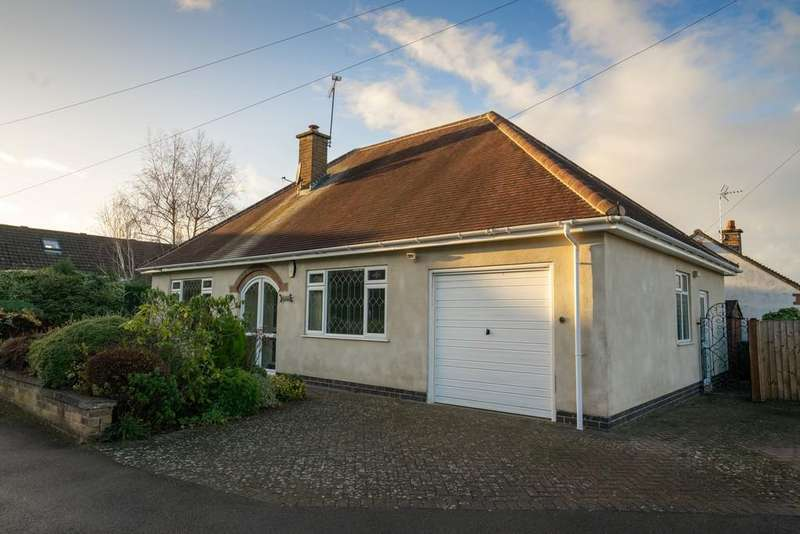 2 Bedrooms Detached Bungalow for sale in Valjean Crescent, Kirby Muxloe, Leicester