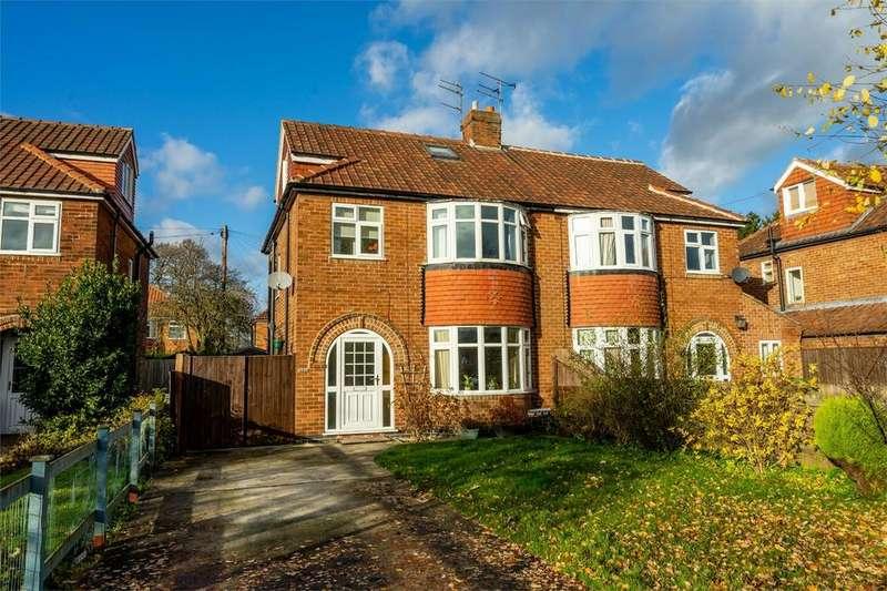 4 Bedrooms Semi Detached House for sale in Heslington Lane, York