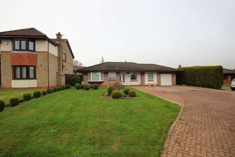 3 Bedrooms Detached Bungalow for sale in Whitworth Meadow, Spennymoor, DL16