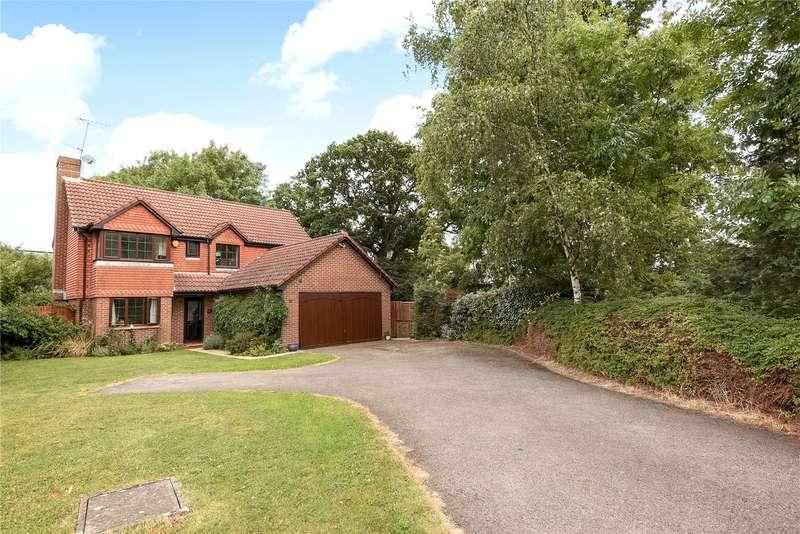 4 Bedrooms Detached House for sale in Woodward Close, Winnersh, Wokingham, Berkshire, RG41