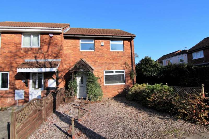 2 Bedrooms Semi Detached House for sale in Wharnecliffe Gardens, Whitchurch BS14