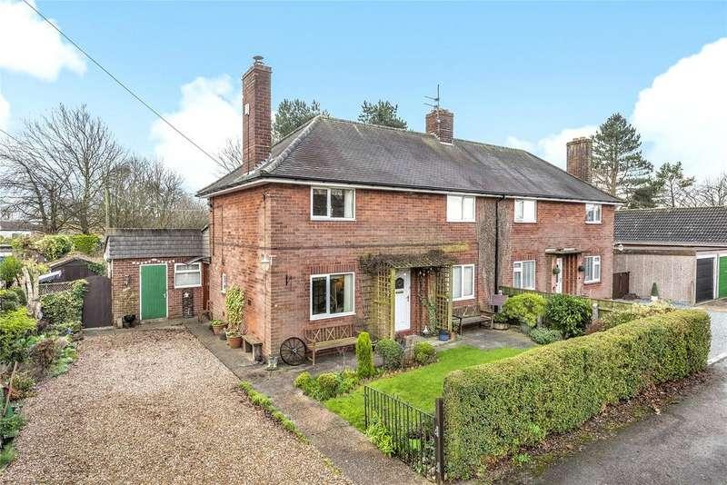 3 Bedrooms Semi Detached House for sale in Whitehall Crescent, Bracebridge Heath, LN4