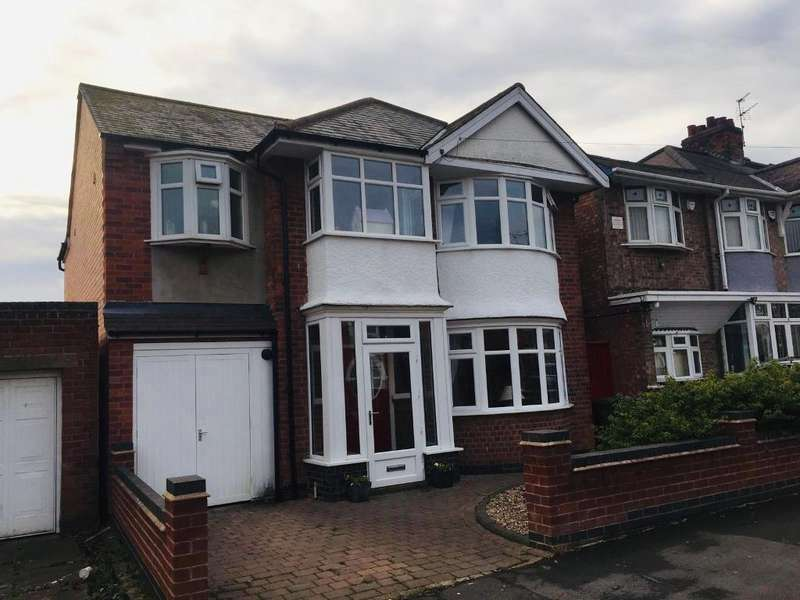 4 Bedrooms Detached House for sale in Kirkland Road, Off Narborough Road South, Leicester, Leicestershire, LE3 2JP