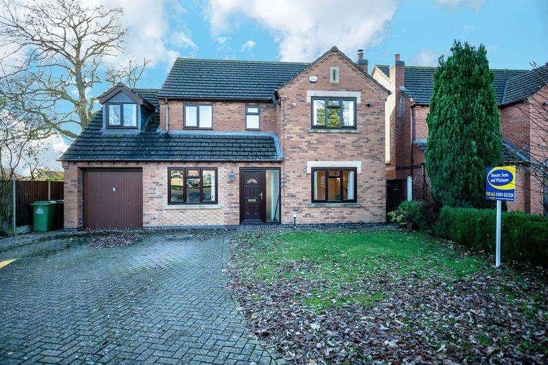 4 Bedrooms Detached House for sale in Bracken Rise, Ellesmere