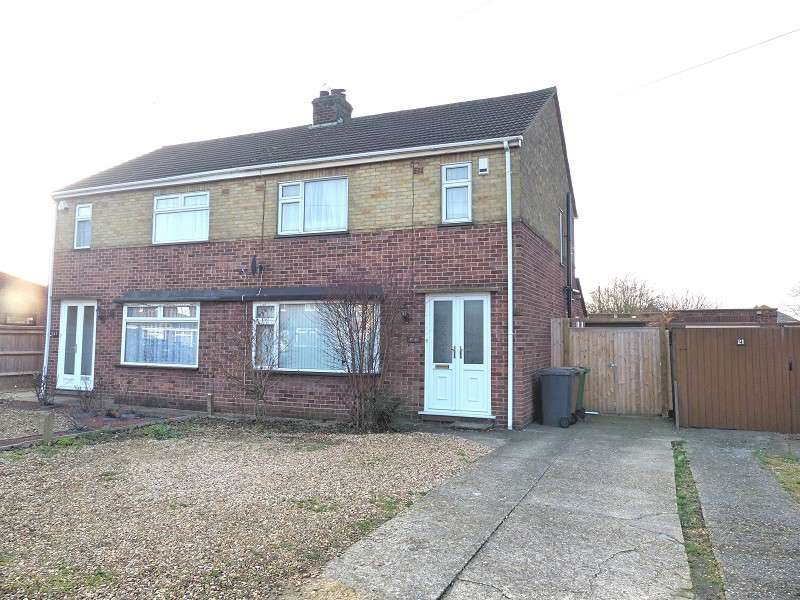 3 Bedrooms Semi Detached House for sale in Mina Close, Stanground, Peterborough, PE2 8TG