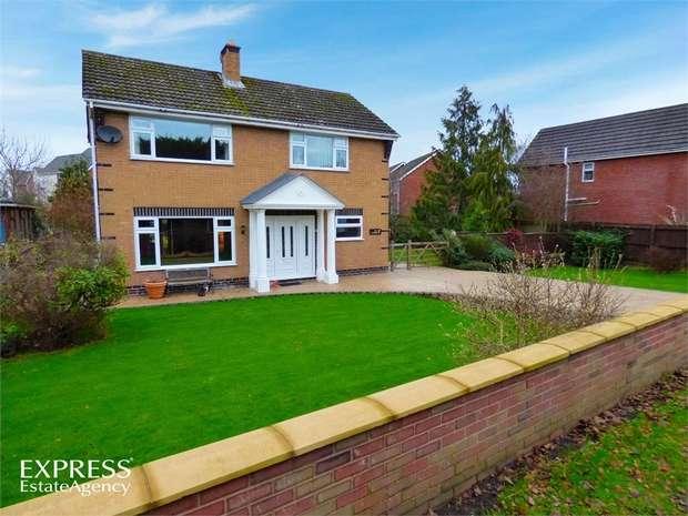 4 Bedrooms Detached House for sale in Wood Lane, Hawarden, Deeside, Flintshire