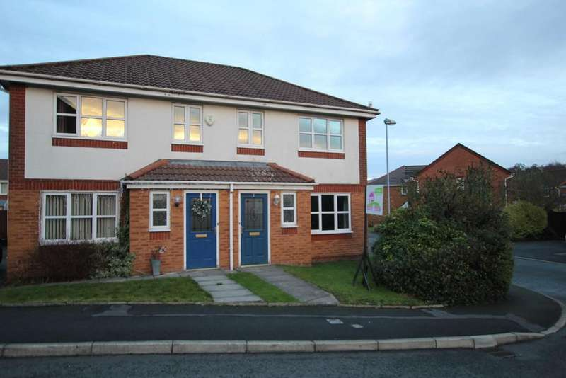 3 Bedrooms Semi Detached House for sale in Brookway, Littleborough