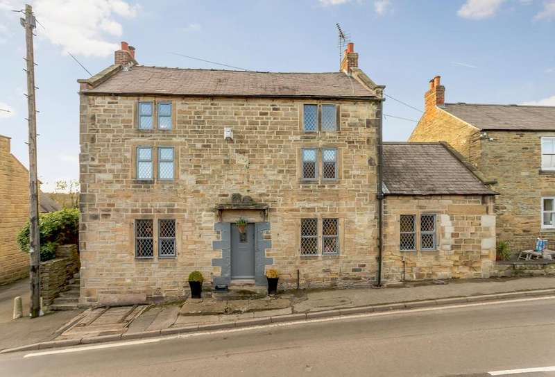5 Bedrooms Detached House for sale in Manor Road, South Wingfield, Alfreton