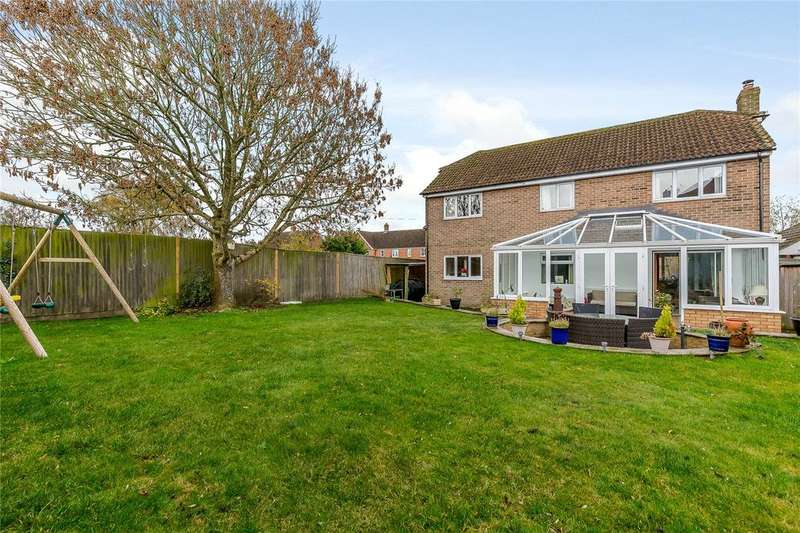 5 Bedrooms Detached House for sale in Worlds End, Beedon, Newbury, Berkshire