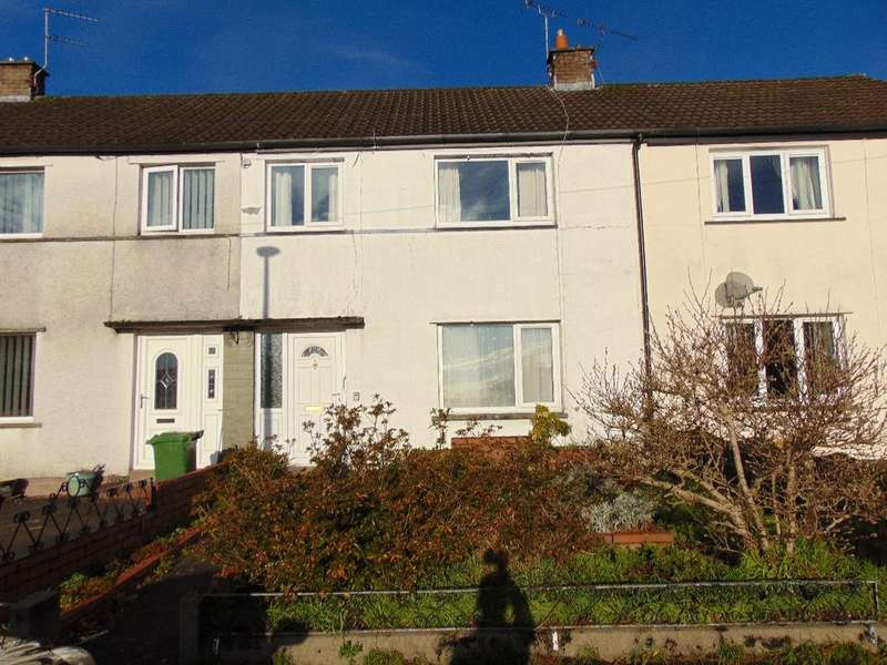 3 Bedrooms Terraced House for sale in 26 Pinfold Close, Cockermouth, Cumbria, CA13 9JW