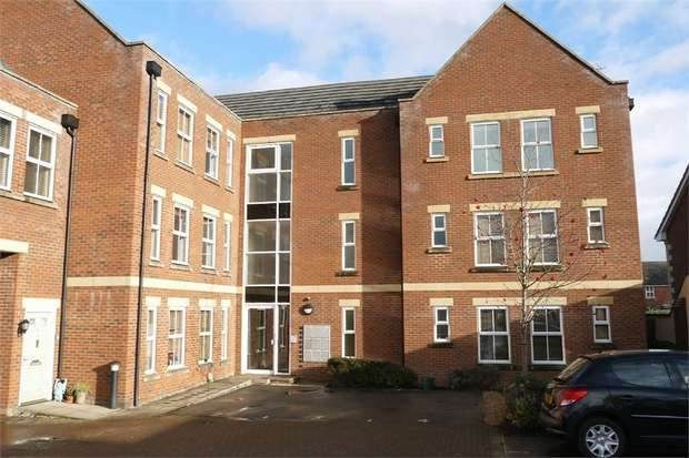 2 Bedrooms Flat for sale in Edna Bowley Court, Market Harborough, Leicestershire