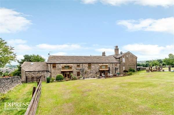 5 Bedrooms Semi Detached House for sale in Upper Hoyle Ing, Thornton, Bradford, West Yorkshire