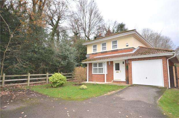 4 Bedrooms Detached House for sale in Hombrook Drive, Bracknell, Berkshire