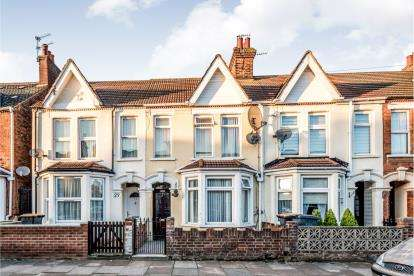 3 Bedrooms Terraced House for sale in Preston Road, Bedford, Bedfordshire, .