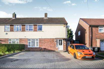3 Bedrooms Semi Detached House for sale in Santingfield South, Luton, Bedfordshire