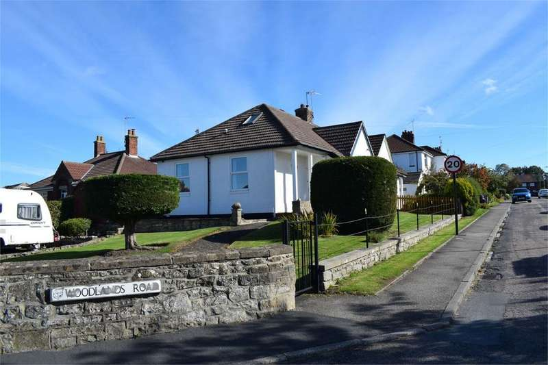 3 Bedrooms Semi Detached Bungalow for sale in Woodlands Road, Barnard Castle, County Durham, DL12