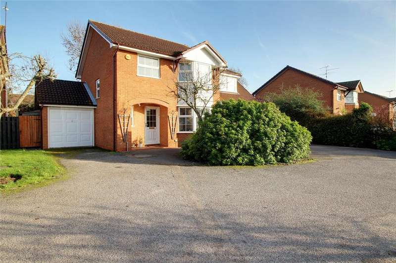 5 Bedrooms Detached House for sale in Firmstone Close, Lower Earley, Reading, Berkshire, RG6