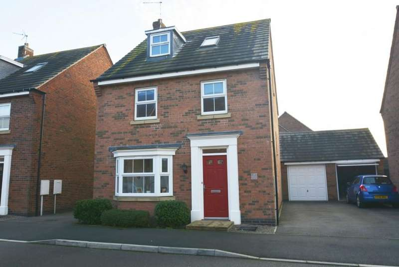 4 Bedrooms Detached House for sale in Oaklands Way, Earl Shilton, Leicestershire, LE9 7JW