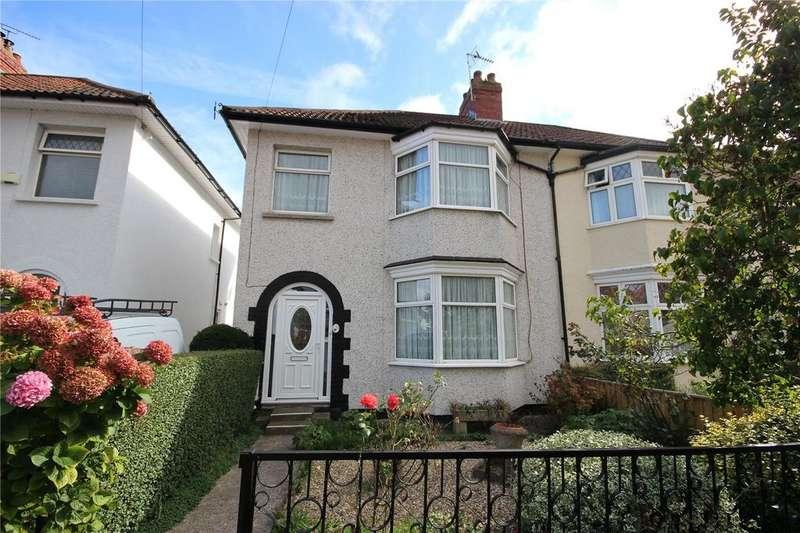3 Bedrooms Semi Detached House for sale in Farington Road, Henleaze, Bristol, BS10