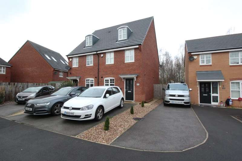 3 Bedrooms Semi Detached House for sale in Gregory Street, Hyde, SK14