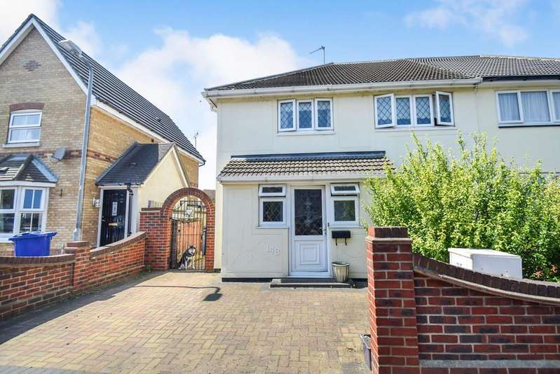 4 Bedrooms Semi Detached House for sale in Garron Lane, South Ockendon