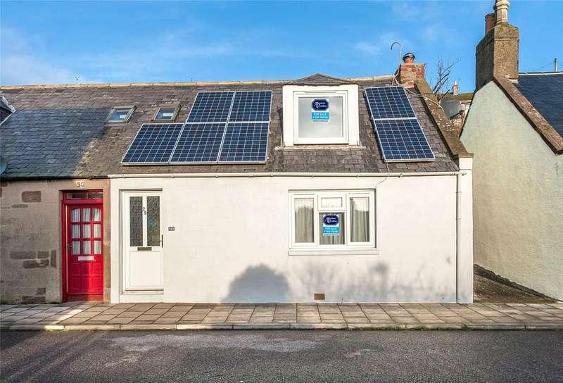 2 Bedrooms Semi Detached House for sale in 29 Queen Street, Gourdon, Montrose, DD10