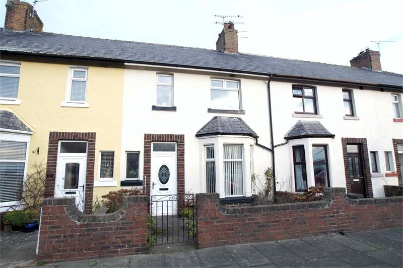 3 Bedrooms Terraced House for sale in CA7 4BN Wampool Street, Silloth, Wigton, Cumbria