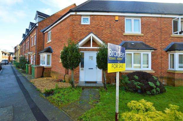 3 Bedrooms Terraced House for sale in Renaissance Gardens, Plymouth, Devon