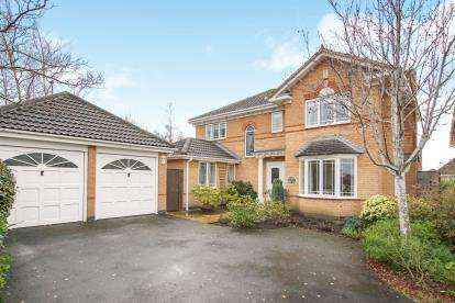 4 Bedrooms Detached House for sale in Harts Croft, Yate, Bristol, South Gloucestershire