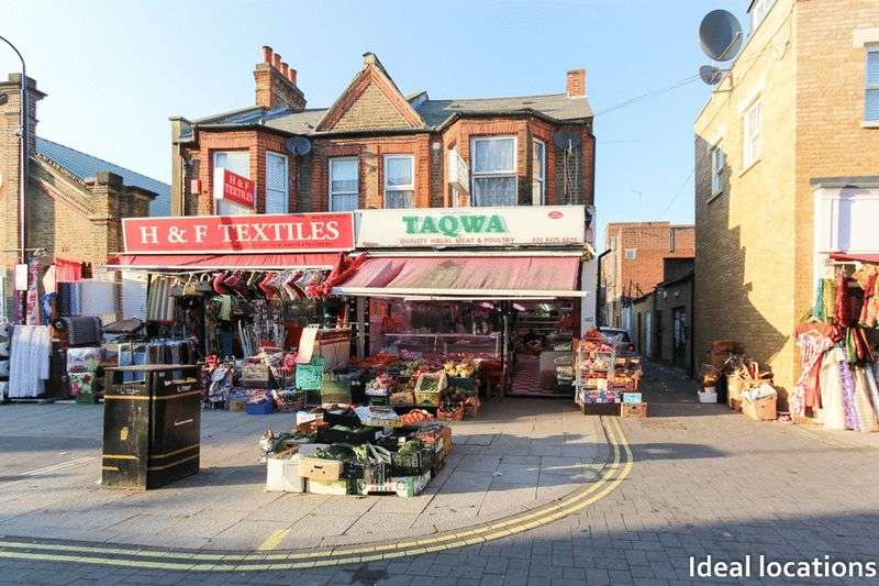 Property for sale in Freehold Shop, Flat and Yard, Myrtle Road, East Ham, London