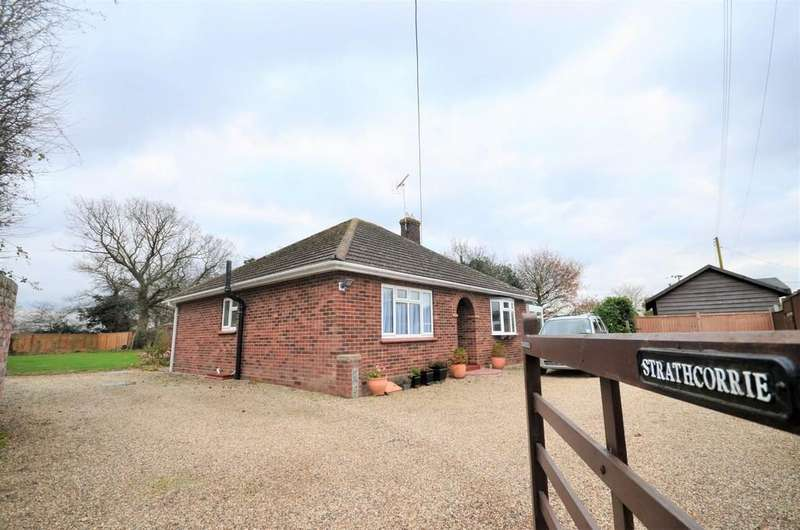2 Bedrooms Detached Bungalow for sale in Colchester Road, Ardleigh, Colchester, CO7 7NX