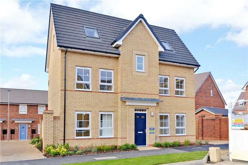 4 Bedrooms Detached House for sale in Antonius Way, Fairfields, Milton Keynes, Buckinghamshire