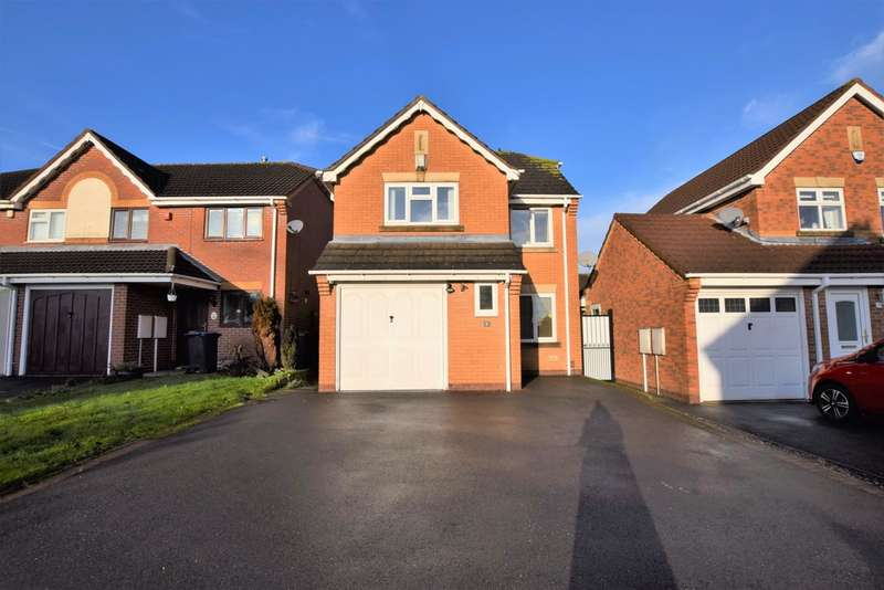 3 Bedrooms Detached House for sale in Frith Way , Hinckley LE10
