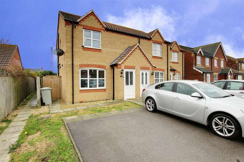 2 Bedrooms End Of Terrace House for sale in Faldos Way, Mablethorpe