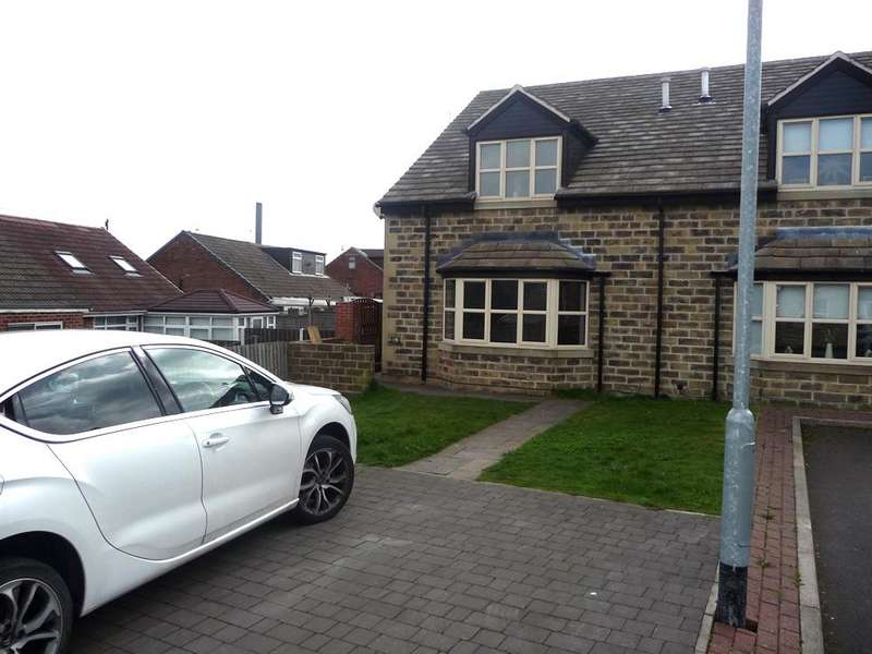 3 Bedrooms Semi Detached House for sale in Dewsbury Gate Road