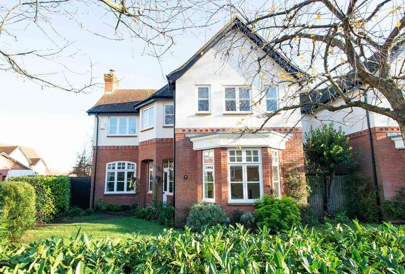 4 Bedrooms Detached House for sale in Rowanwood Avenue, Sidcup, DA15