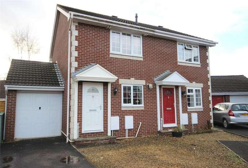 2 Bedrooms Semi Detached House for sale in Lime Kiln Gardens, Bradley Stoke, Bristol, BS32
