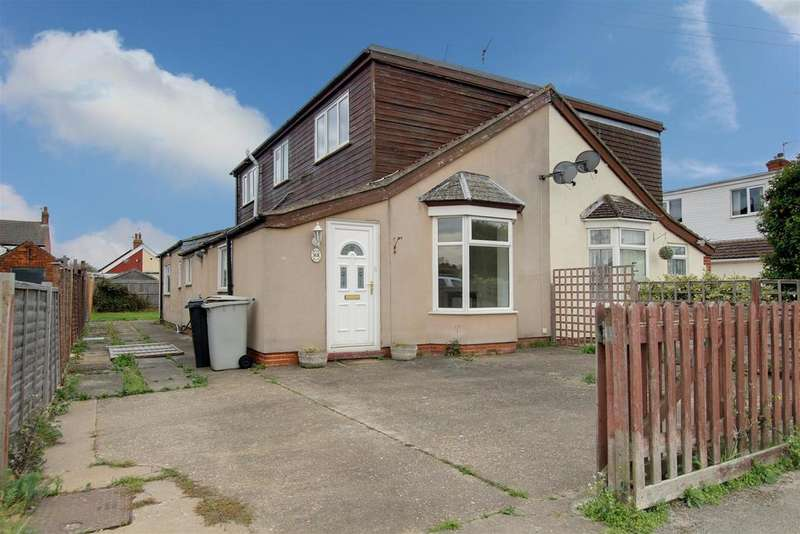 3 Bedrooms Semi Detached Bungalow for sale in Regent Road, Mablethorpe