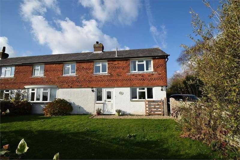 4 Bedrooms Semi Detached House for sale in Cottage Lane, Hankham, Pevensey, East Sussex