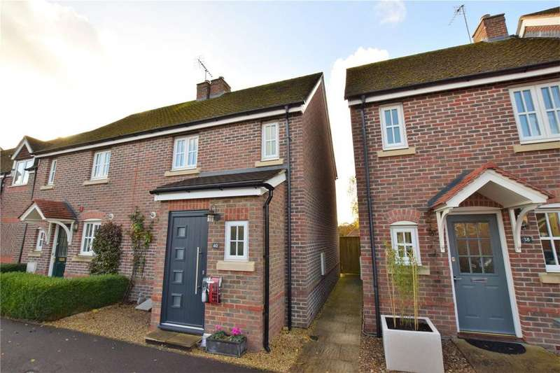2 Bedrooms End Of Terrace House for sale in Acorn Gardens, Burghfield Common, Reading, Berkshire, RG7