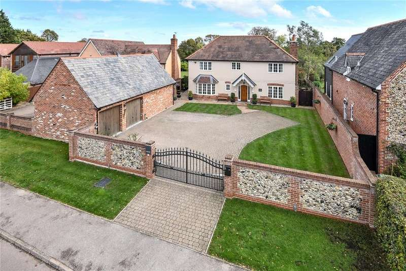 4 Bedrooms Detached House for sale in High Street, Cheveley, Newmarket, Suffolk, CB8