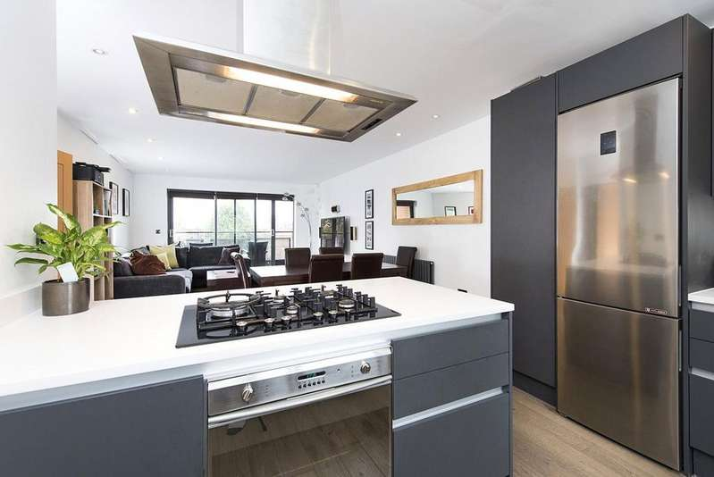2 Bedrooms Apartment Flat for sale in Manor Gardens, Islington, London, N7