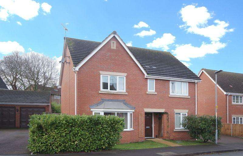4 Bedrooms Detached House for sale in Upper Field Close, Bullingham Lane, Hereford