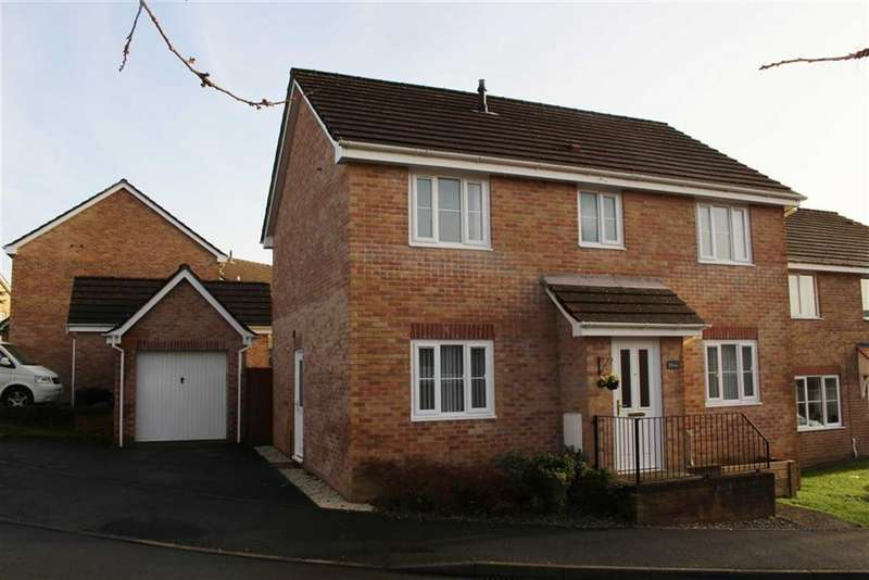 4 Bedrooms Detached House for sale in Llys Llwyfen, Tregof Village, Swansea Vale